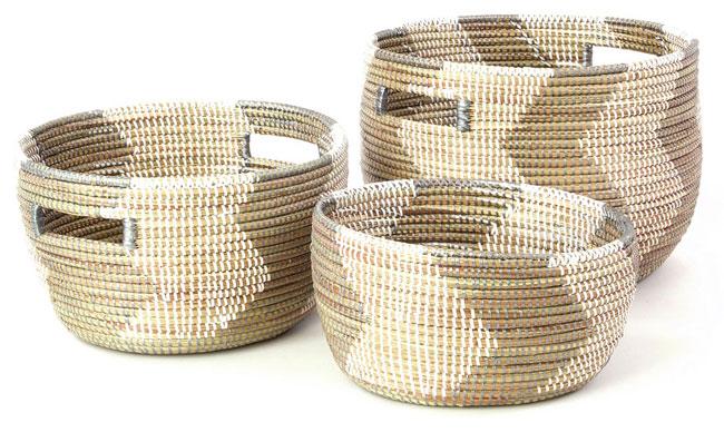 Handmade Nesting Baskets | UncommonGoods