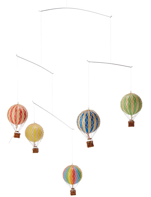 Hot Air Balloon Mobile | UncommonGoods