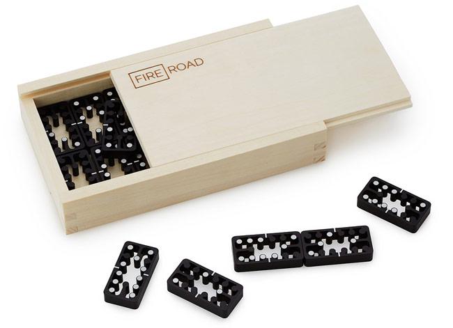 Aluminum Domino Set | UncommonGoods
