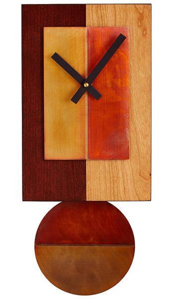 Cherry Pendulum Clock | UncommonGoods