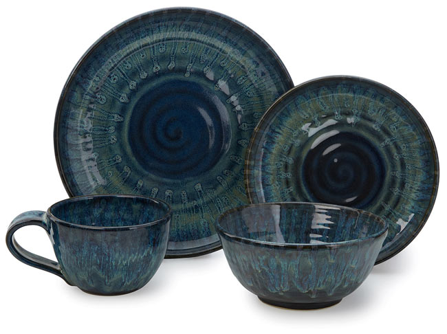 Shibori Dishware Collection | UncommonGoods