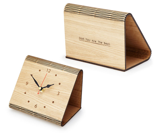 Personalized Flex Time Clock - UncommonGoods