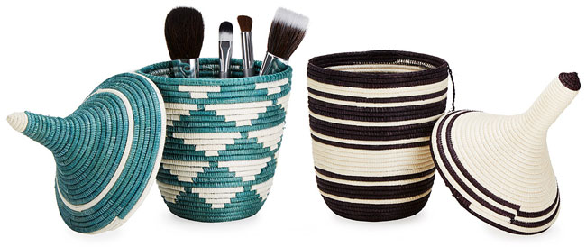 Handwoven Friendship Basket | UncommonGoods