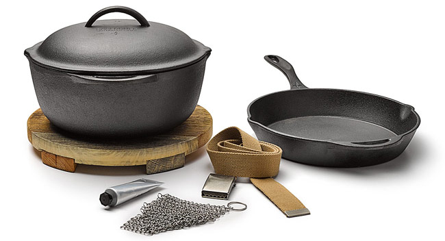 Cast Iron Cooking Set - UncommonGoods