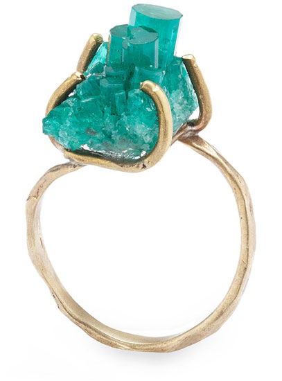 Emerald Crystal Ring | UncommonGoods