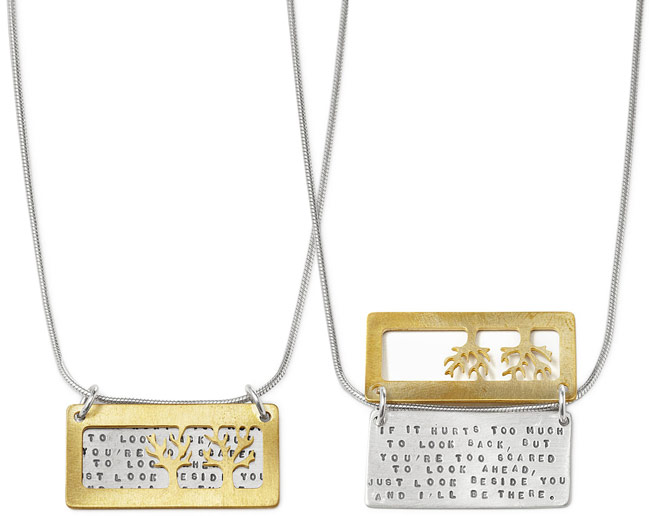 I'll Be There Necklace | UncommonGoods