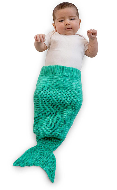 Baby Mermaid Tail | UncommonGoods