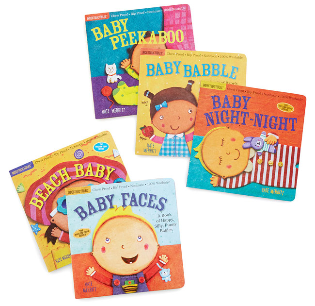 Indestructible Baby Book Set | UncommonGoods
