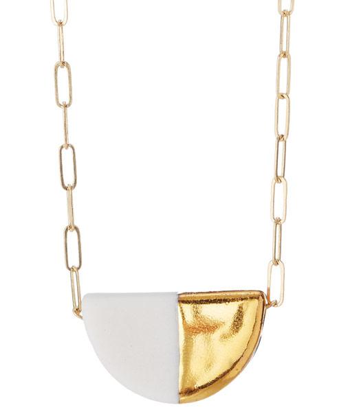 Deco Porcelain Necklace | UncommonGoods