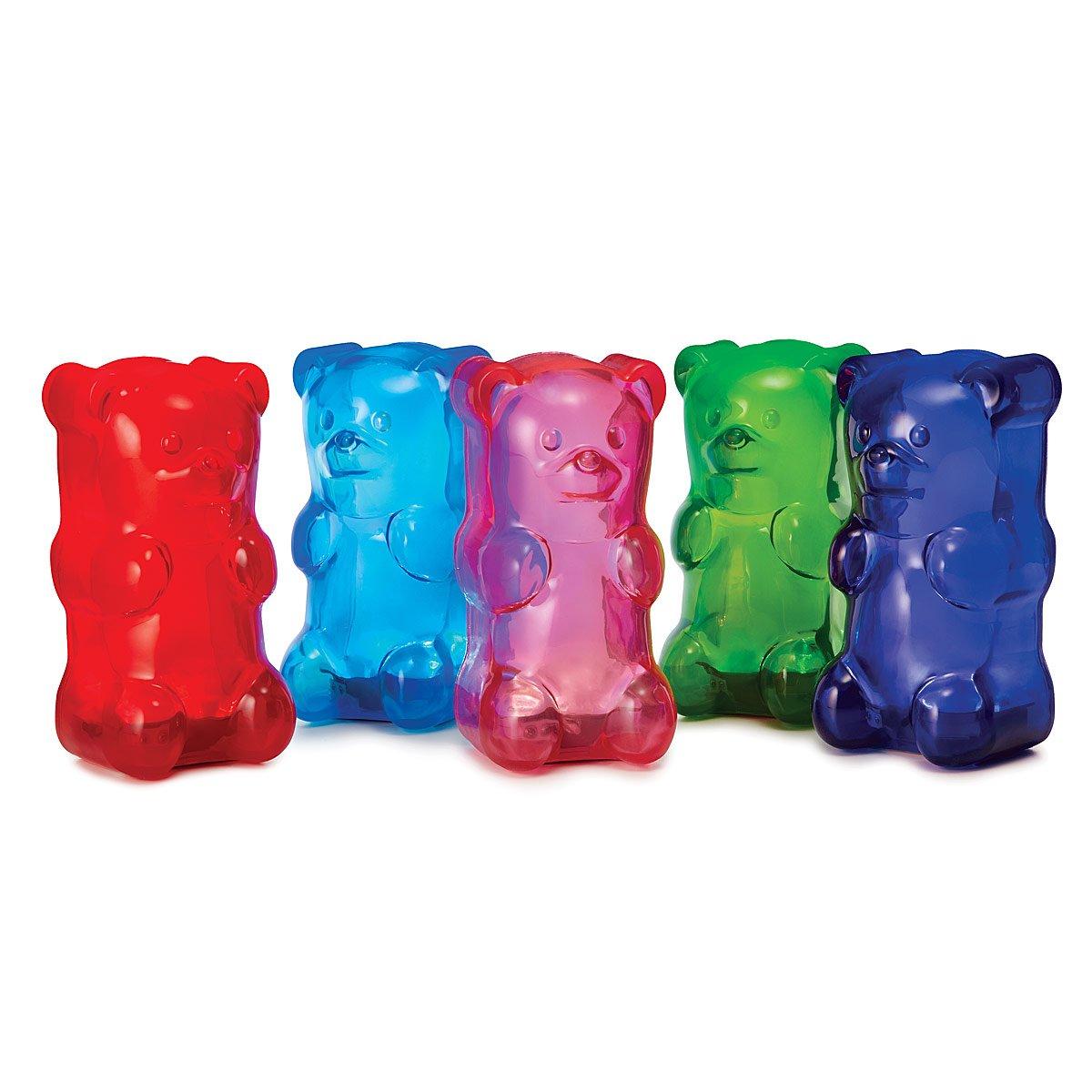 Picture of: Squishy Gummy Bear Light Gummi Bear Lamp Nightlight Uncommon Goods