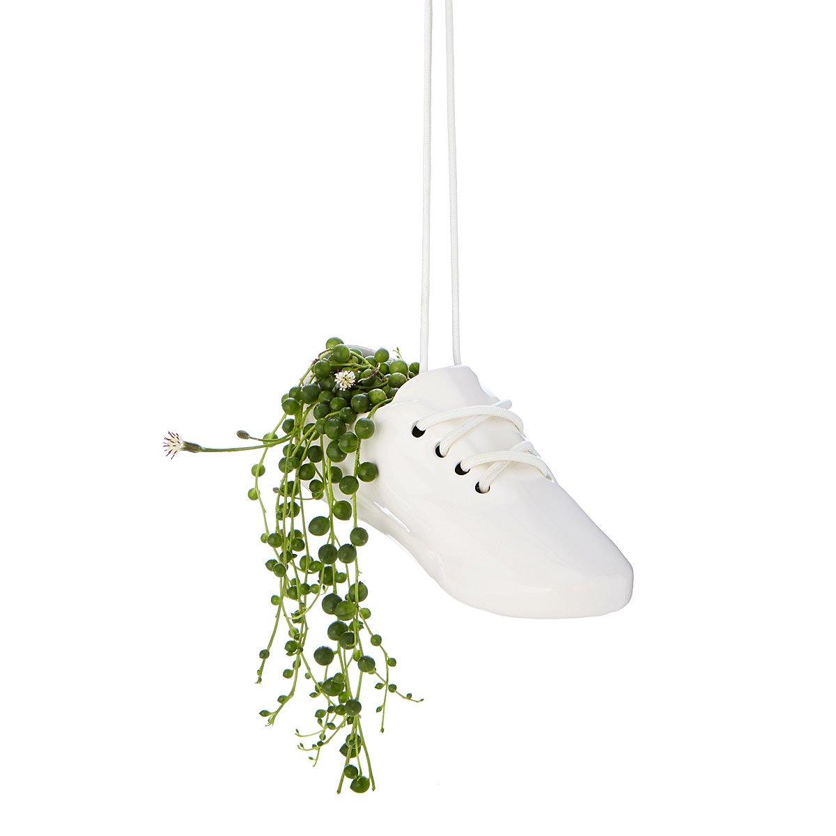 Sneaker Hanging Planter | UncommonGoods