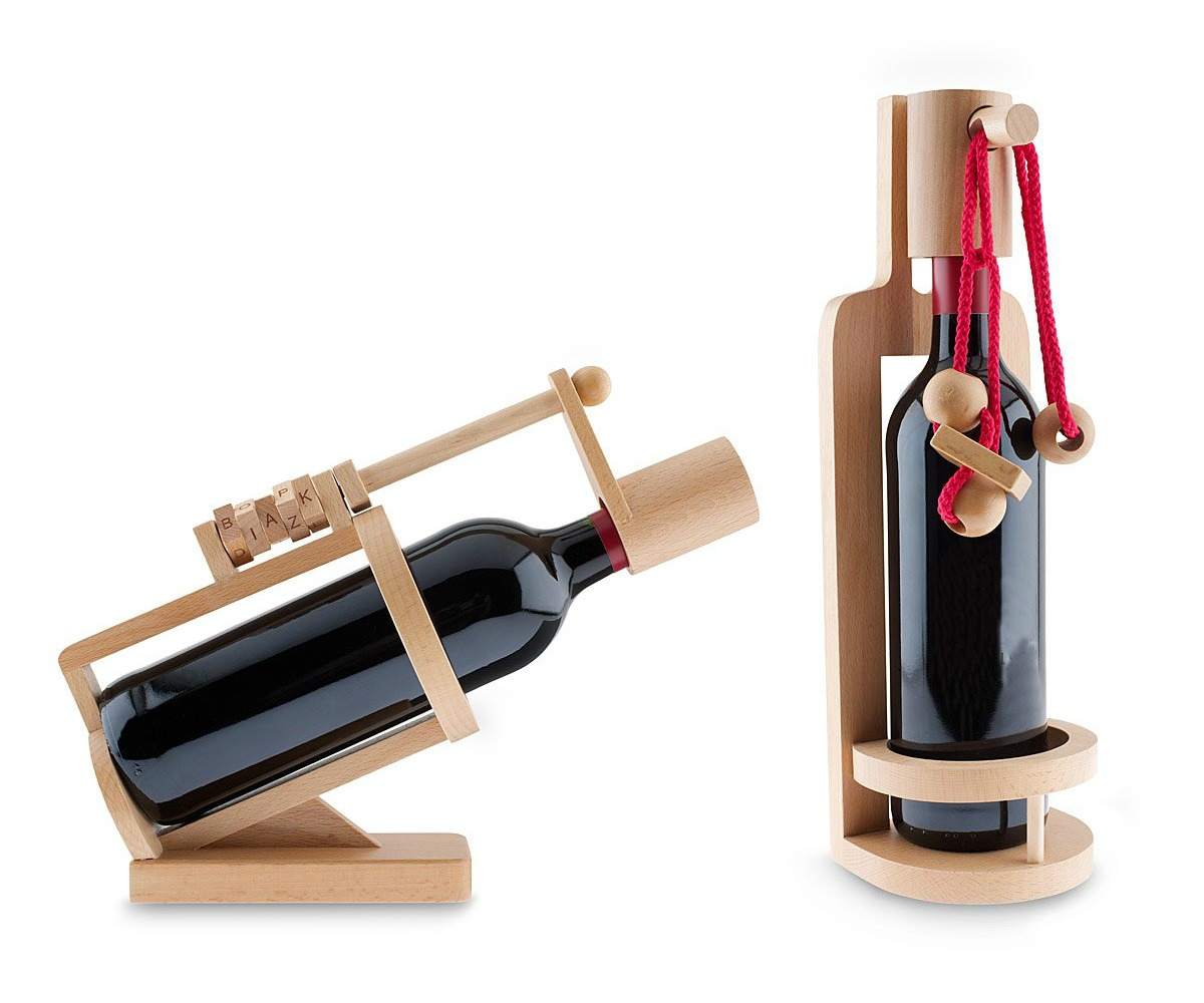 Wine Bottle Puzzles | UncommonGoods