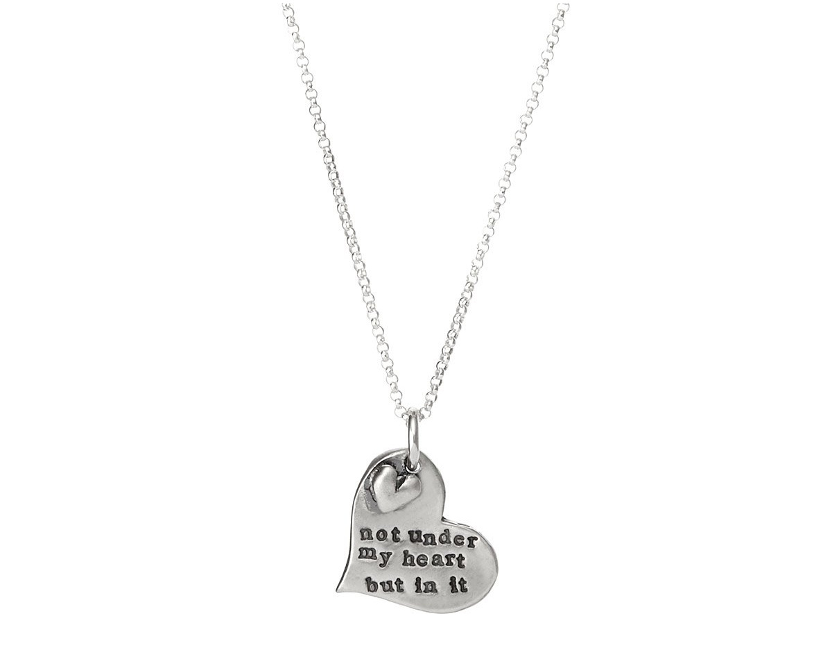 Adoption Is Love Necklace | UncommonGoods
