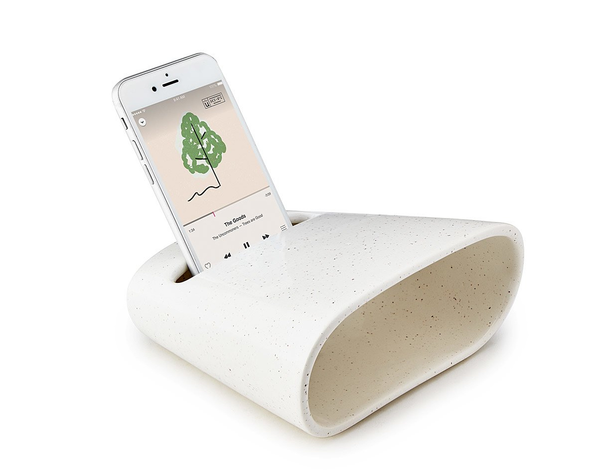 Ceramic Phone Amplifier | UncommonGoods