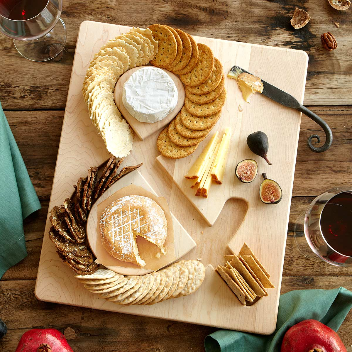 Cheese and Crackers Serving Board | UncommonGoods