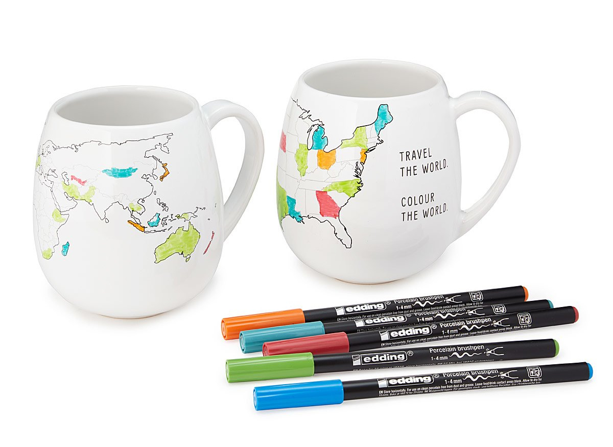 Color Map Mugs | UncommonGoods