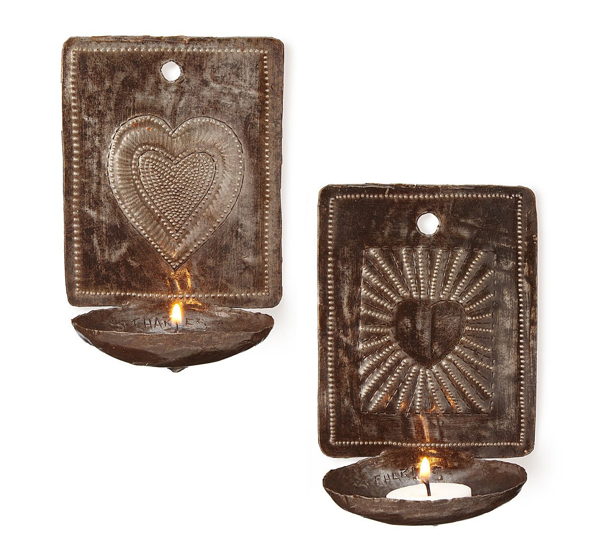 Heart Sconce Set | UncommonGoods