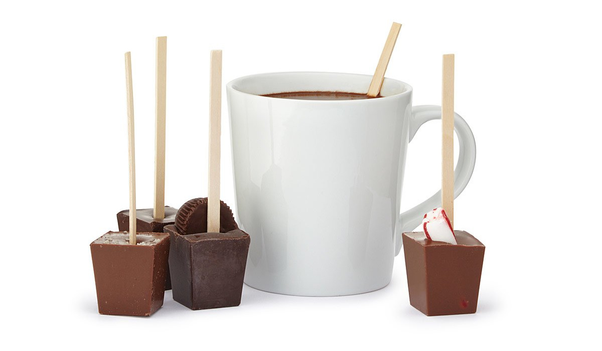 Hot Chocolate on a Stick | UncommonGoods