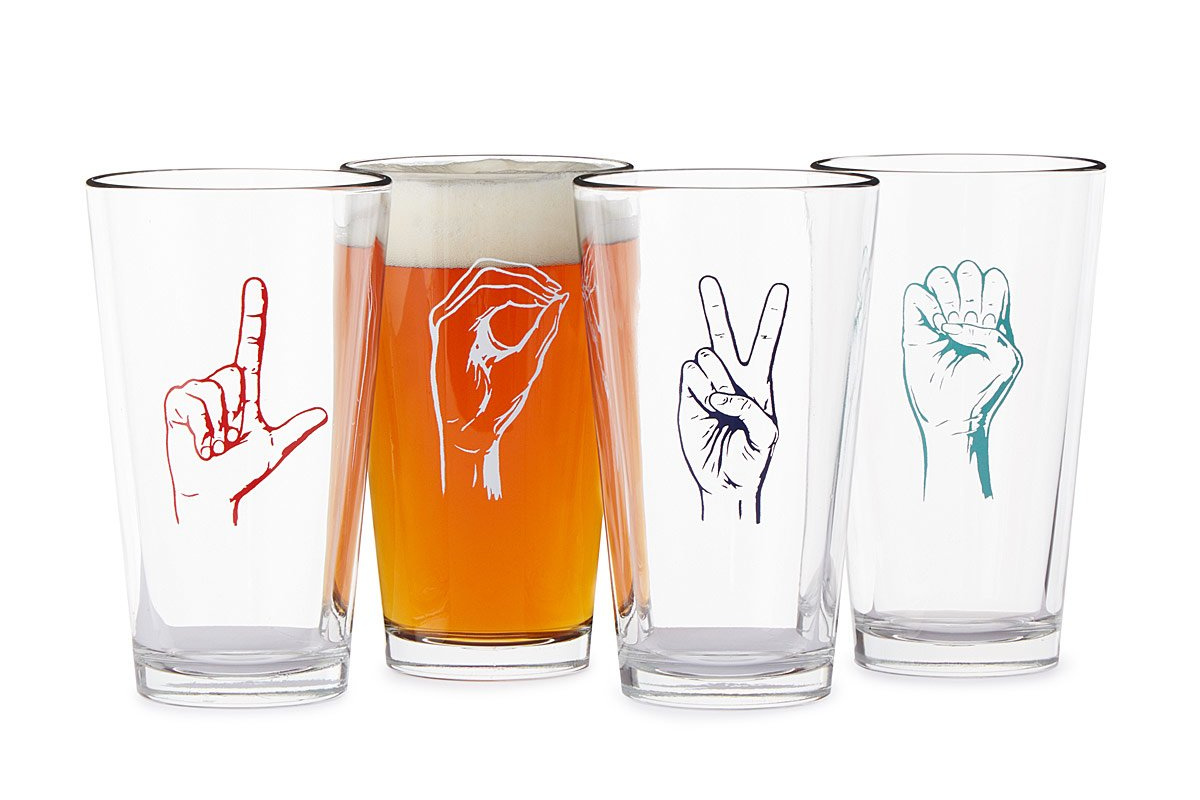Love Language Tumblers - Set of 4 | UncommonGoods