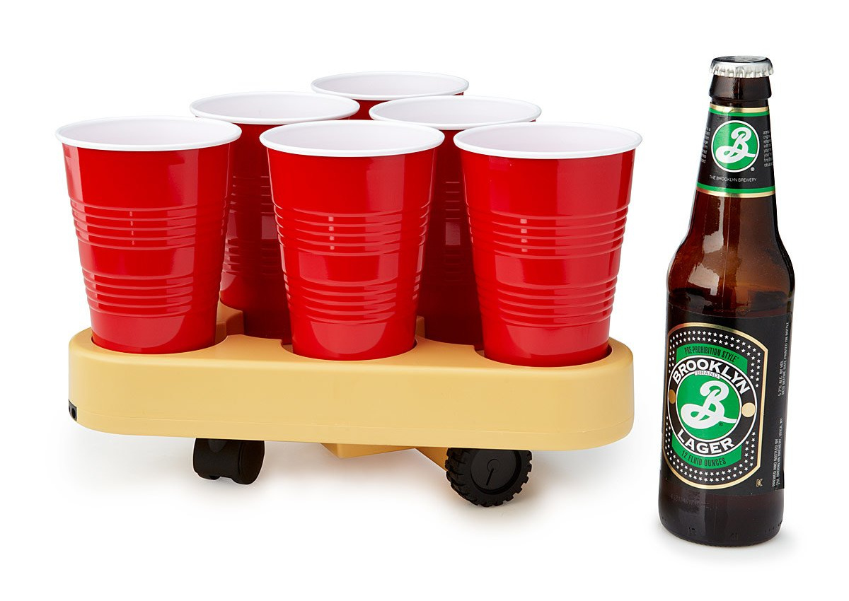 Moving Beer Pong Robot | UncommonGoods