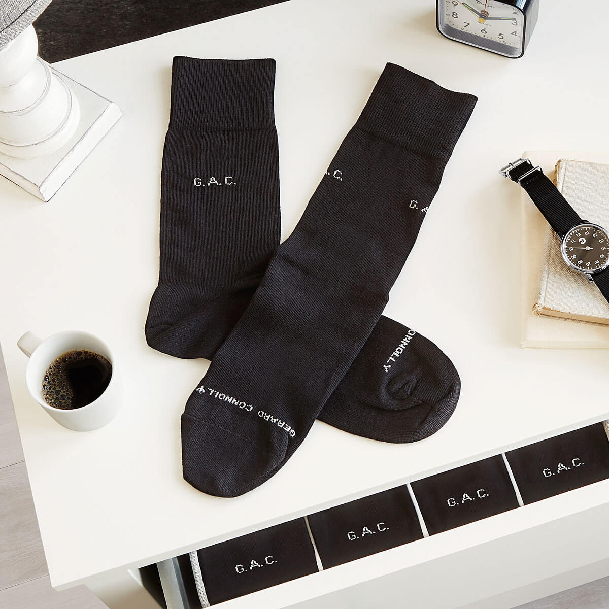 Personalized Socks - Set of 5 Pairs | UncommonGoods