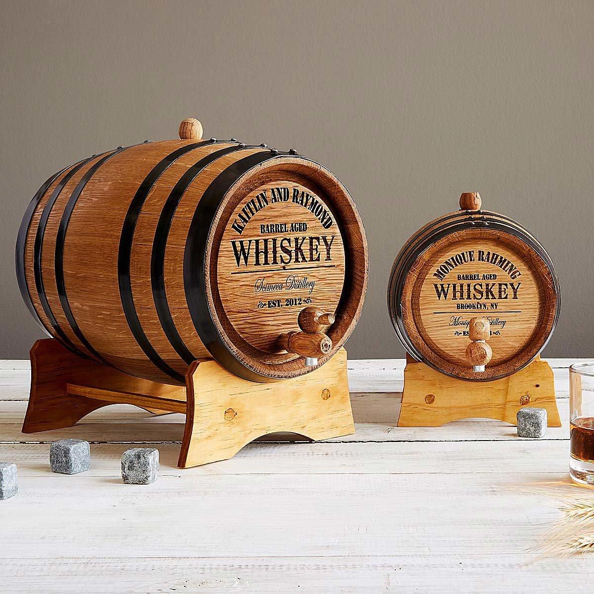Personalized Whiskey Barrel | UncommonGoods