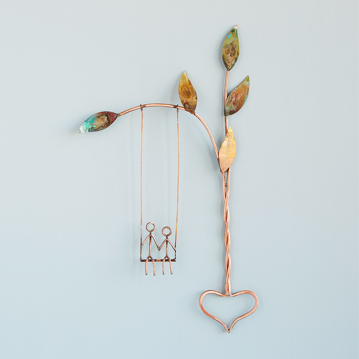 Rooted in Love Swing Sculpture | UncommonGoods