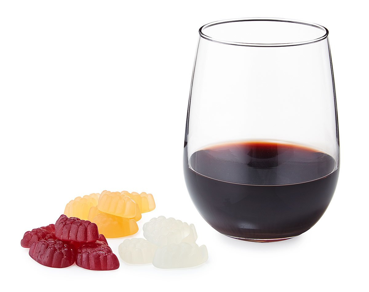 Wine Gummies Trio | UncommonGoods