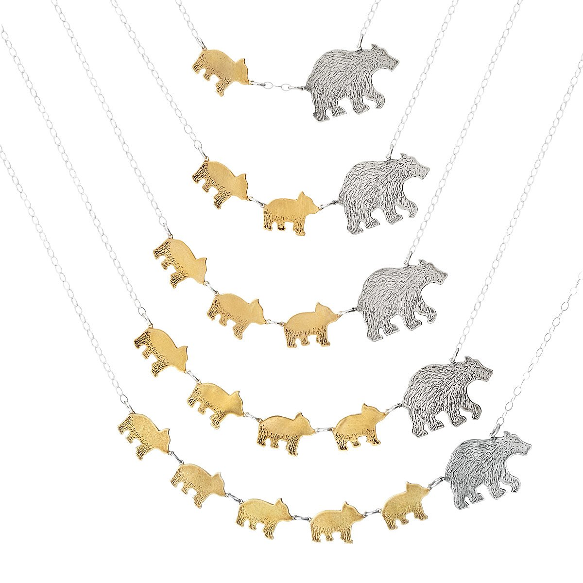 Mama Bear Necklaces | UncommonGoods