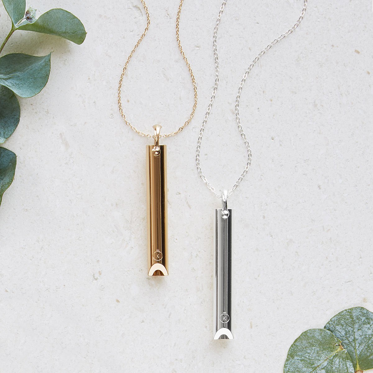 Mindful Breathing Necklace | UncommonGoods