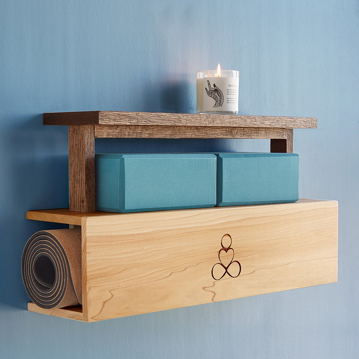 Yoga Mat Storage and Display | UncommonGoods