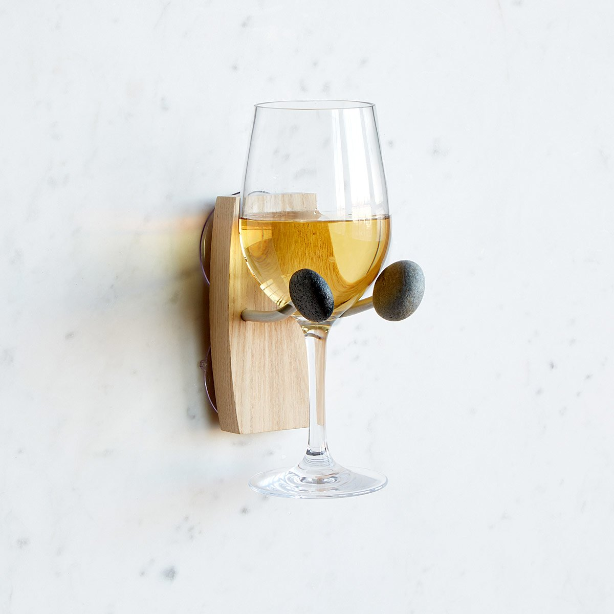Bathtime Essentials Wine Holder | UncommonGoods