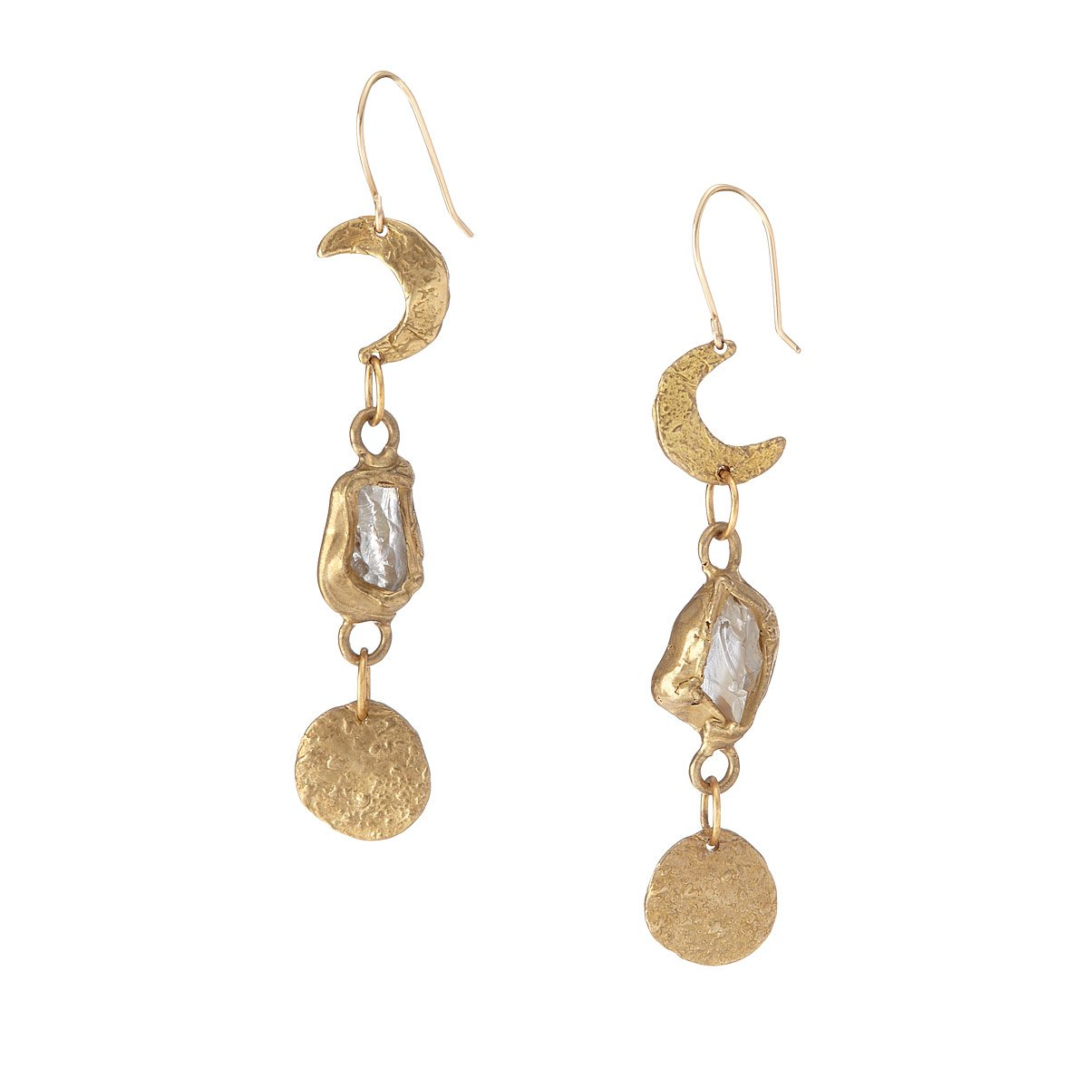 Moon And Stars Earrings | UncommonGoods
