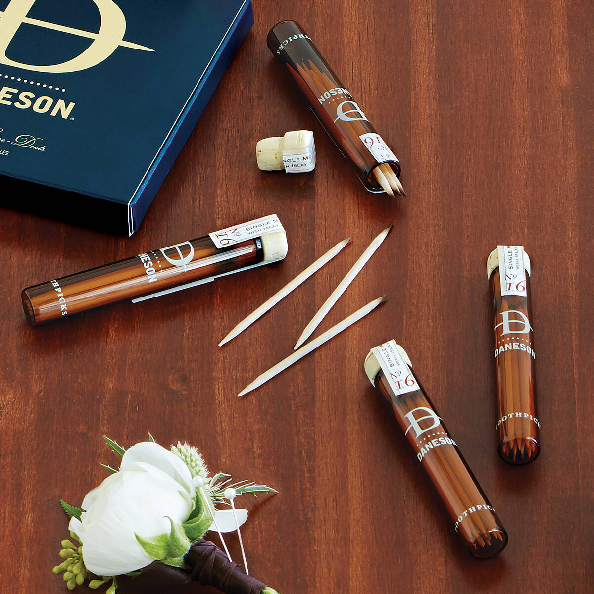 Scotch-Infused Toothpicks Gift Set | UncommonGoods