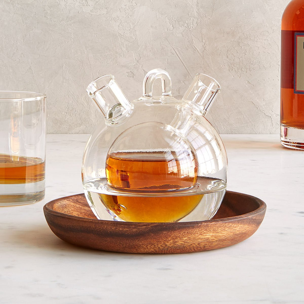 Personal Whiskey & Water Decanter | UncommonGoods