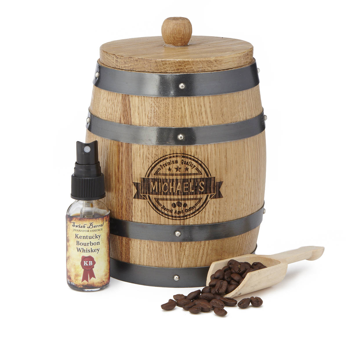 Personalized Barrel Aged Coffee Infuser   UncommonGoods