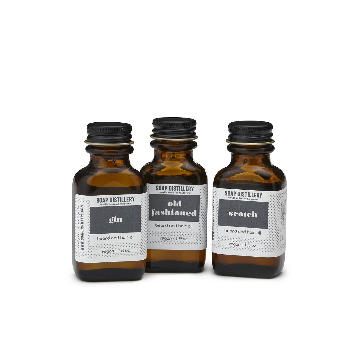 Distillery Beard And Hair Oils | UncommonGoods