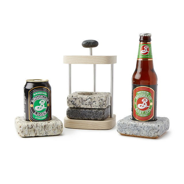 Beer Chilling Coasters | UncommonGoods