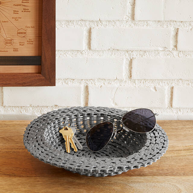 Bike Chain Bowl | Uncommon Goods