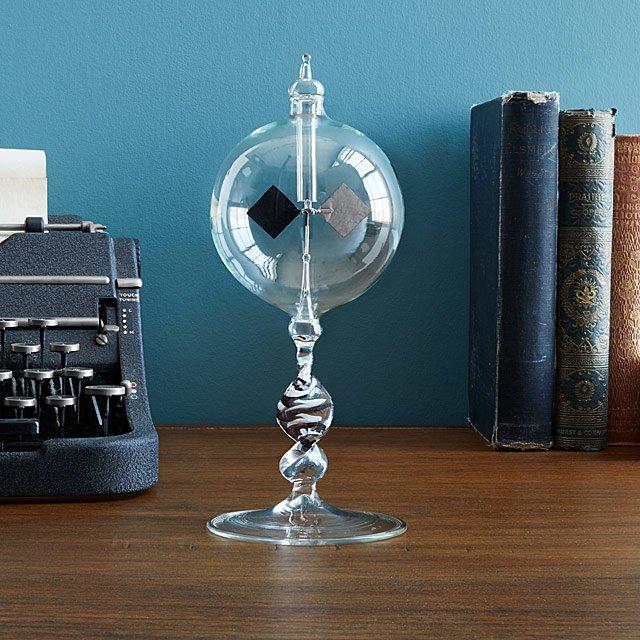 Blown Glass Radiometer | Uncommon Goods