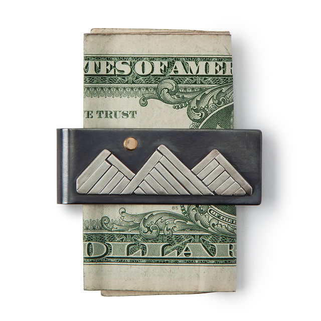 Climb Every Mountain Money Clip | Uncommon Goods
