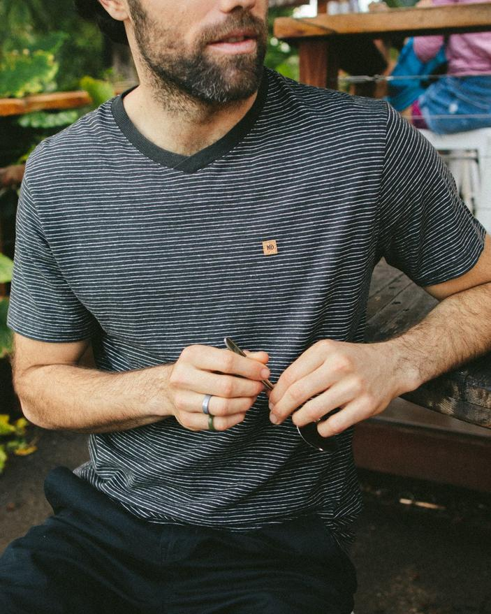 M Hemp V-Neck T-Shirt | Uncommon Goods