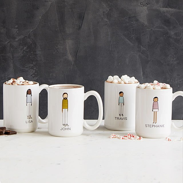 Personalized Family Mugs | Uncommon Goods
