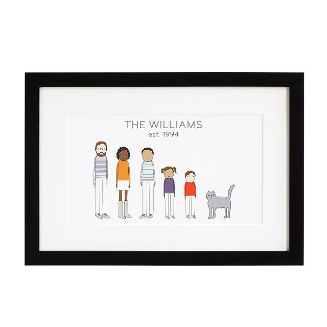 Personalized Family Print | Uncommon Goods