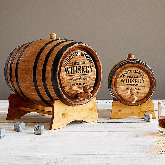 Personalized Whiskey Barrel | Uncommon Goods