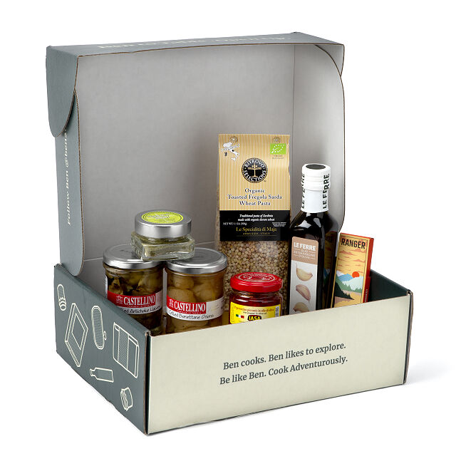 Taste of Italy Pantry Box | Uncommon Goods