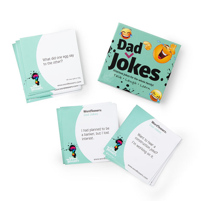 Word Teasers- Dad Jokes | Uncommon Goods