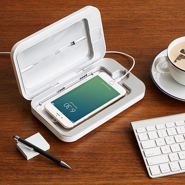 PhoneSoap Smartphone Sanitizer | Uncommon Goods