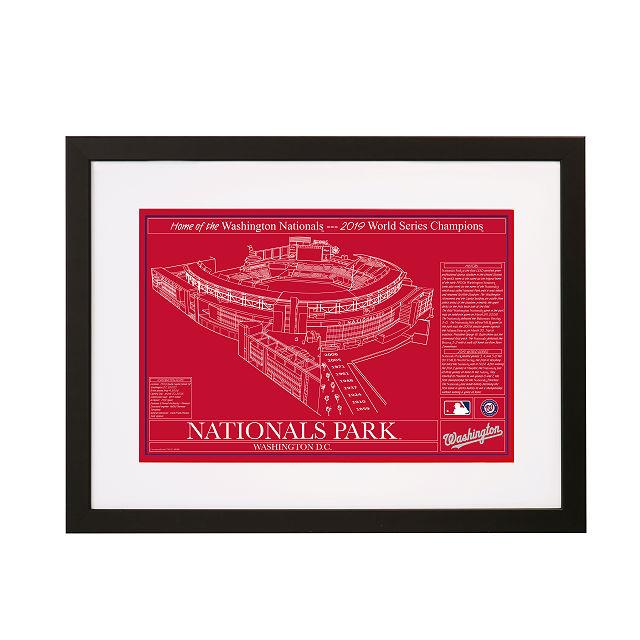 Baseball Stadium Blueprints | Uncommon Goods
