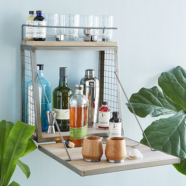 Hanging Cocktail Bar | UncommonGoods
